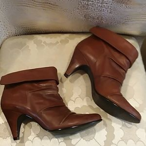 Brazillian Leather Ankle Boots